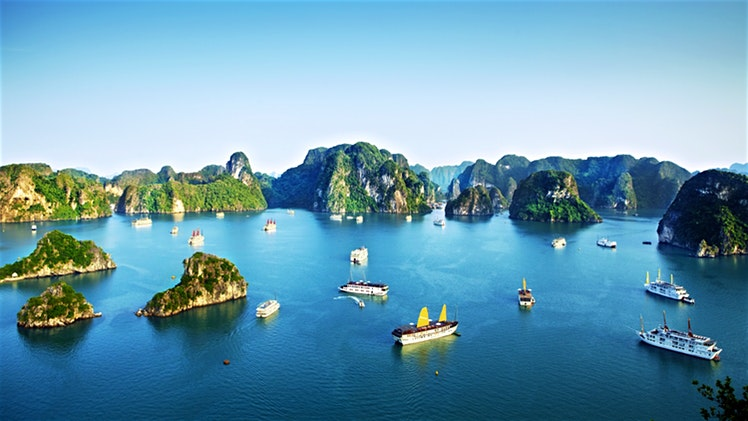 romantic-places-in-vietnam-halong