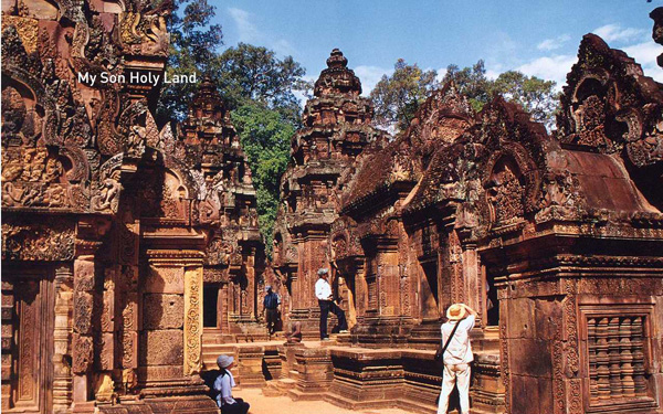 My Son Holy land - a favorite destination of Indian tourists to Vietnam - Vietnamvisa.sg