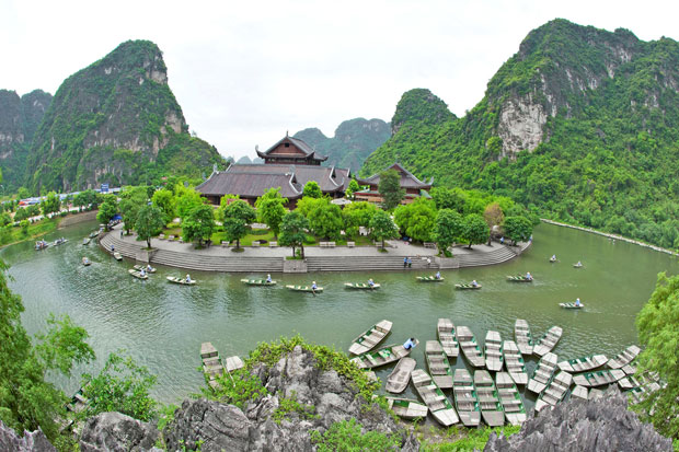 Trang An - new world heritage site in Vietnam - Vietnam visa application from Singapore